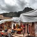 El Mercado de Pizac a los pies de los Andes