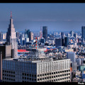 Skyline de Tokio de día