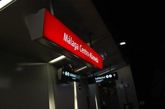 Estación de RENFE de Málaga
