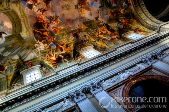 Visitar Roma - Iglesia de San Ignacio