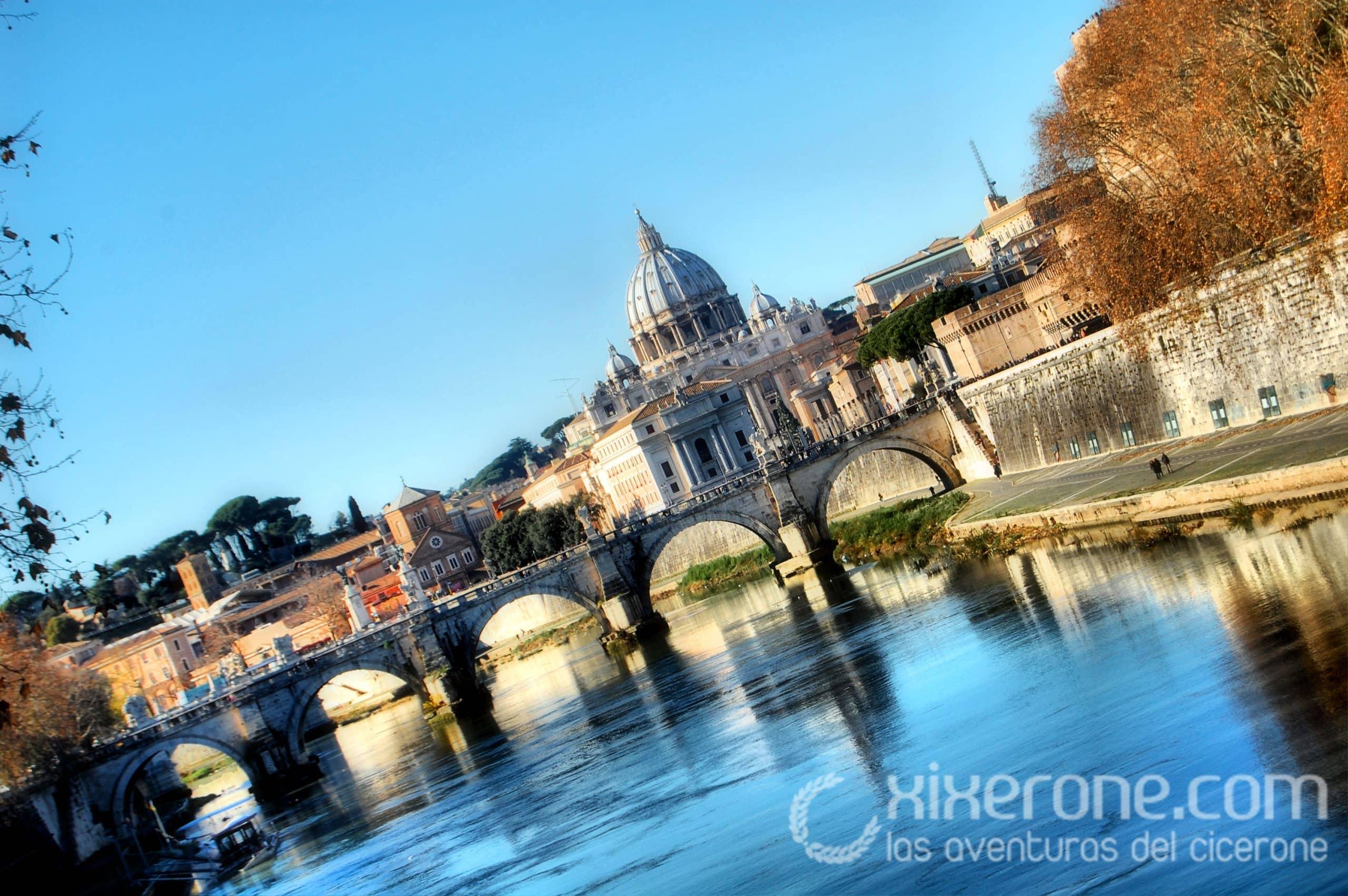 Visitar Roma - Tíber y San Pedro