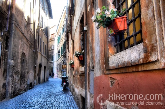 Visitar Roma - Calle Romana