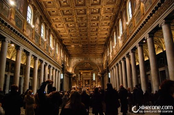 Interior de Santa Maria Maggiore