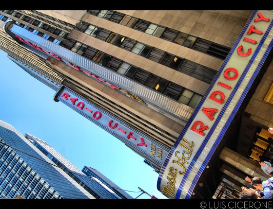 El Radio City Music Hall, legendario teatro musical neoyorkino.
