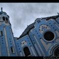 Fachada Principal - Iglesia Azul