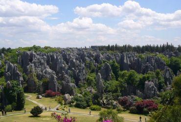 El bosque de piedra de China