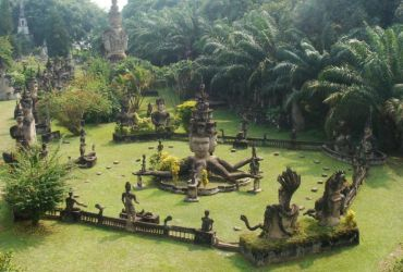 Xieng Khuan, el parque de los budistas