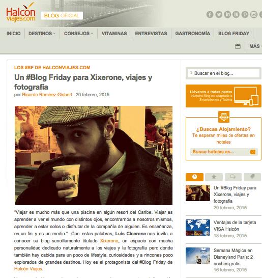 Blog de Halcón Viajes