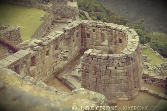 Edificación intacta de Machu Picchu