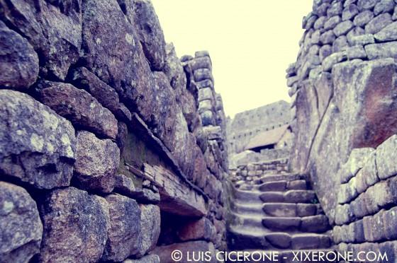 Ciudad de Machu Picchu - Escaleras