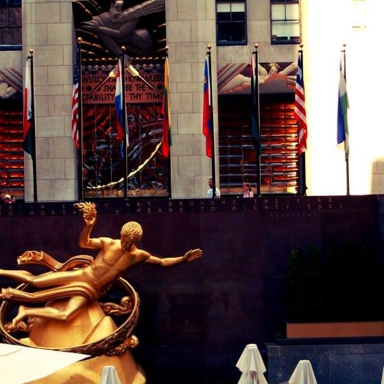 Plaza del Rockefeller Center