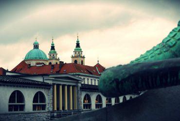 Ljubljana, la capital de Eslovenia