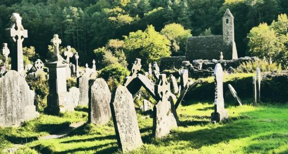 Cementerio de Glendalough