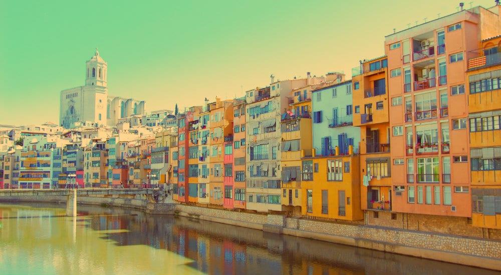 Girona y el río Oñar