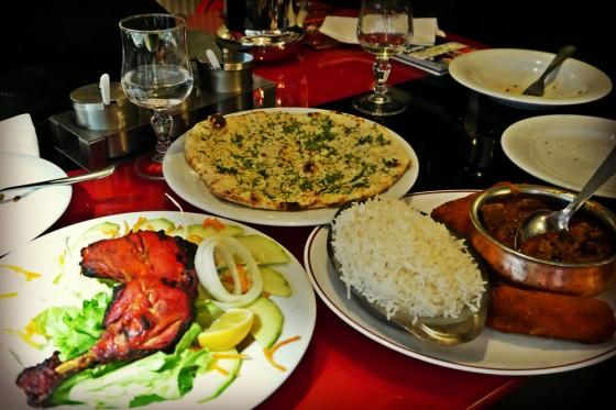 Comida india en París