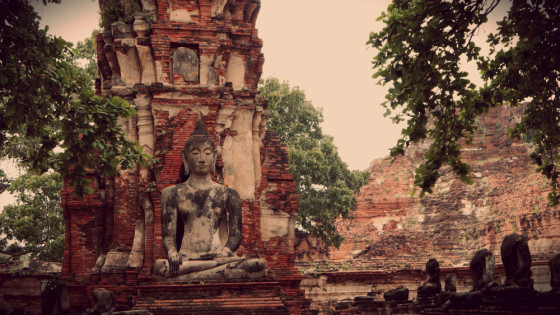 Ruinas Templo Maha That