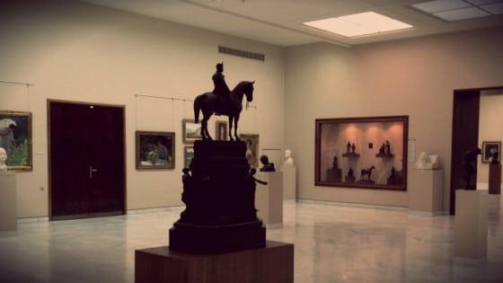 Sala Museo Nacional de Arte de Rumanía