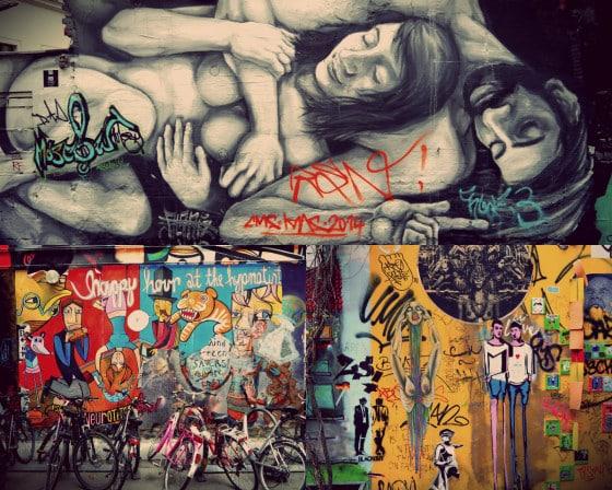 Arte urbano en el hof