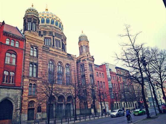 Sinagoga Nueva, Berlín