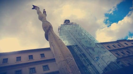 Escultura de Alberto González para el Pabellón de la República