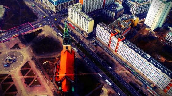 Alexanderplatz desde la Torre de la TV