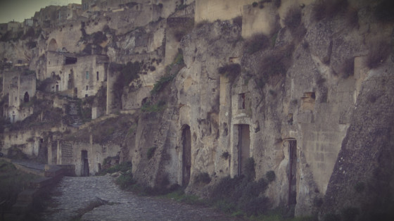 Cave houses Matera