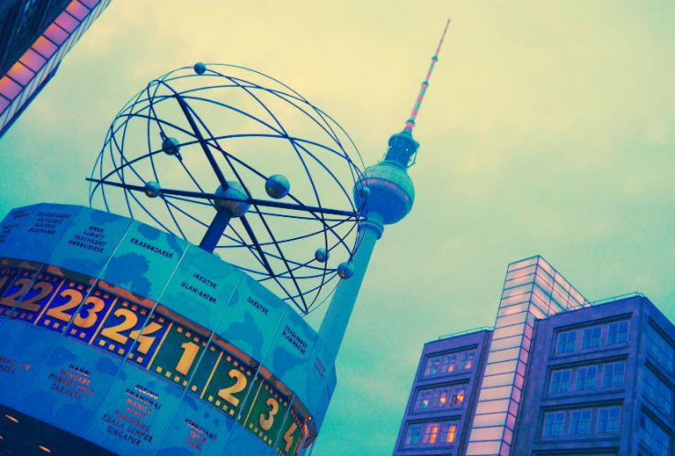 Reloj mundial de Berlín