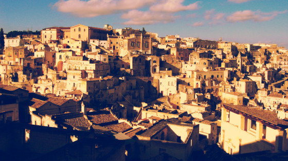 Hill in Matera