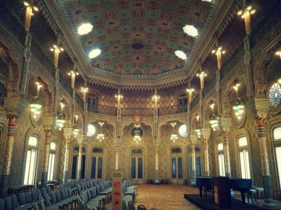 Salón Árabe Palacio da Bolsa de Oporto