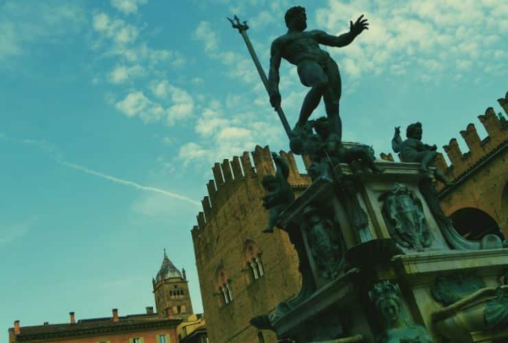 Fuente de Neptuno - Bologna, Italia