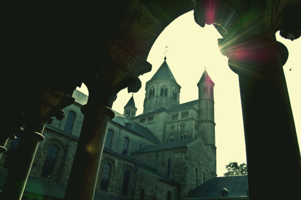 iglesia colegiata de Santa Gertrudis de Nivelles
