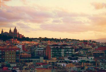 Atardecer desde Barceló Raval