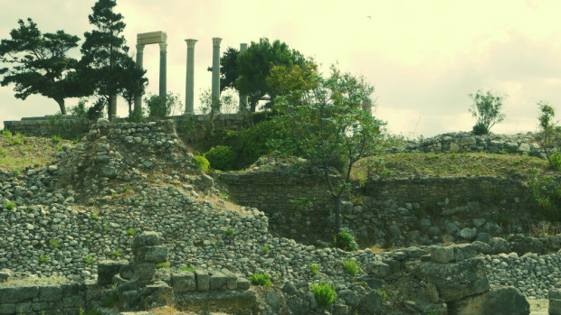Ruins in Byblos