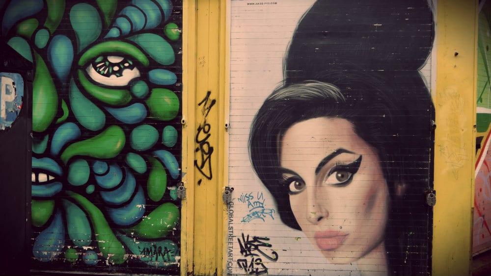 Amy Winehouse Graffiti