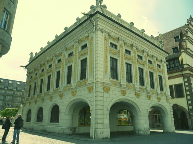 Antigua bolsa de Leipzig
