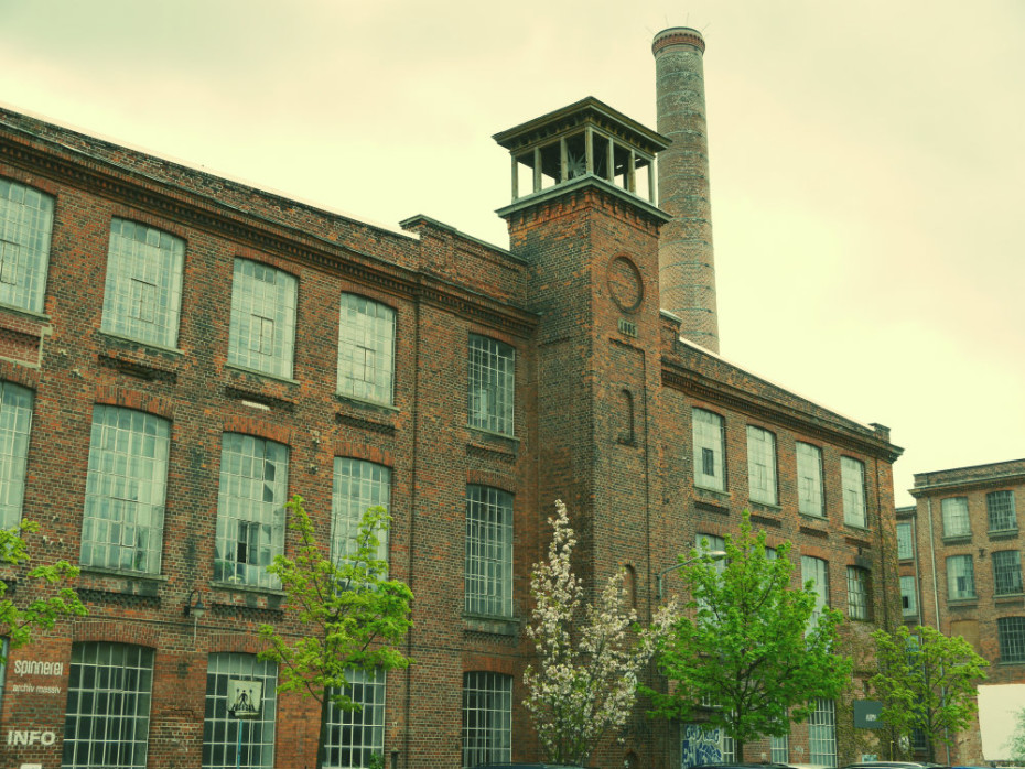 Spinnerei Leipzig - Antiguas fábricas
