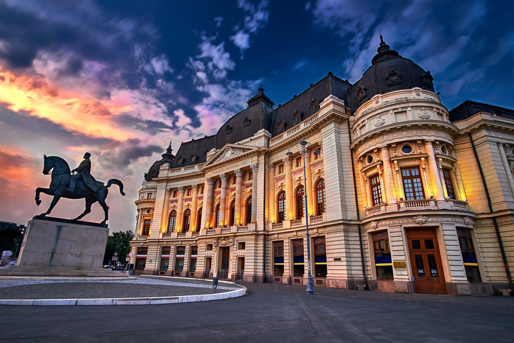 Best areas to stay in Bucharest - Centro Histórico