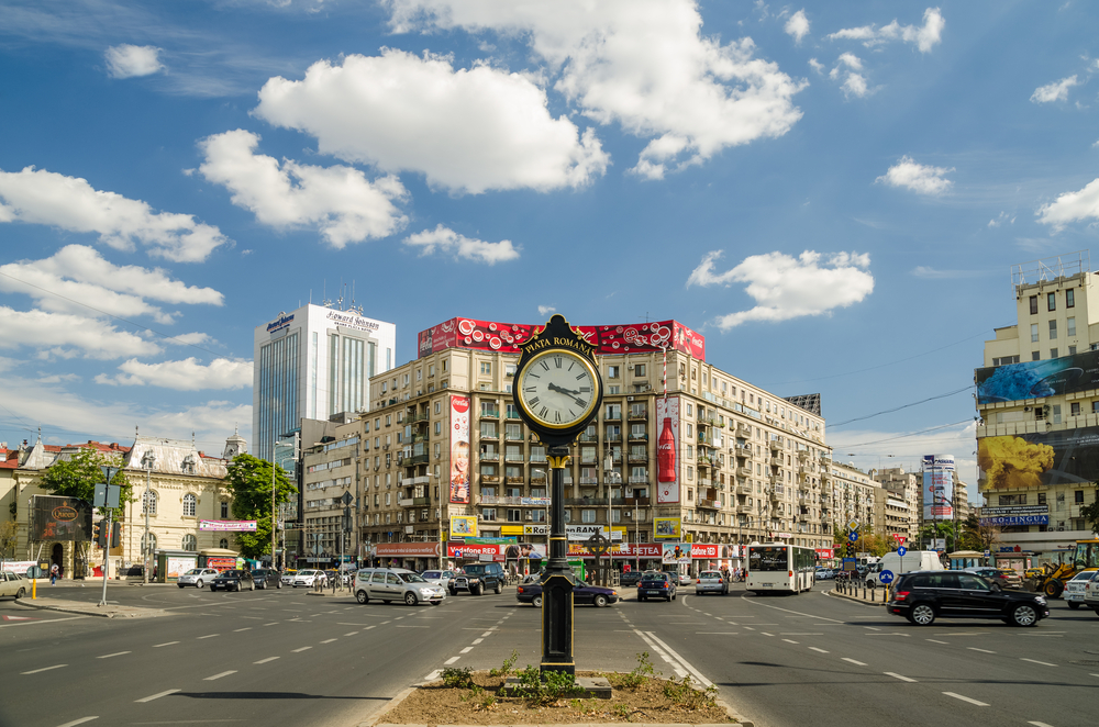 Best areas to stay in Bucharest - Piata Romana