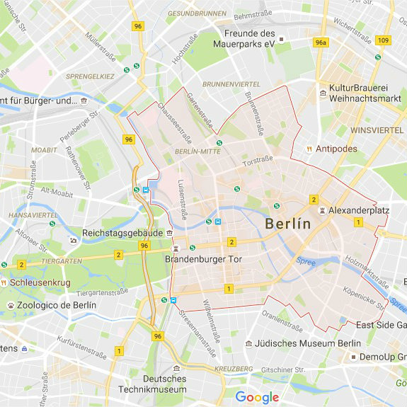 The Best Areas To Stay In Berlin Top Districts And Hotels - Berlin map hotels