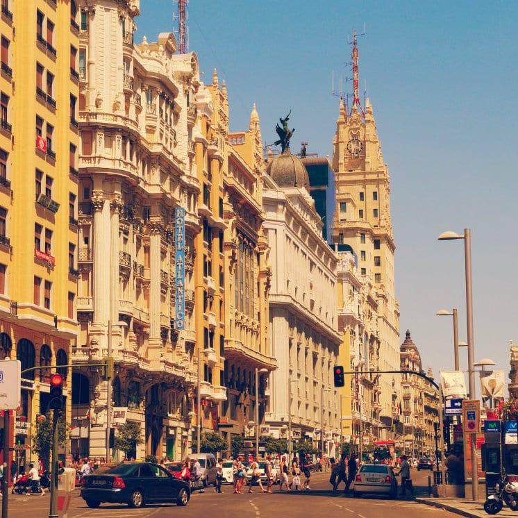 Dormir en Madrid - Gran Vía