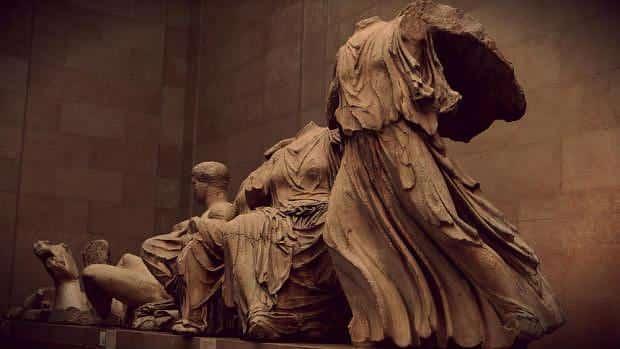 Friso del Partenón en el British Museum