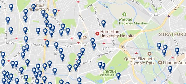 Londrs - Hackney - Haz clic para ver todos los hoteles en esta zona