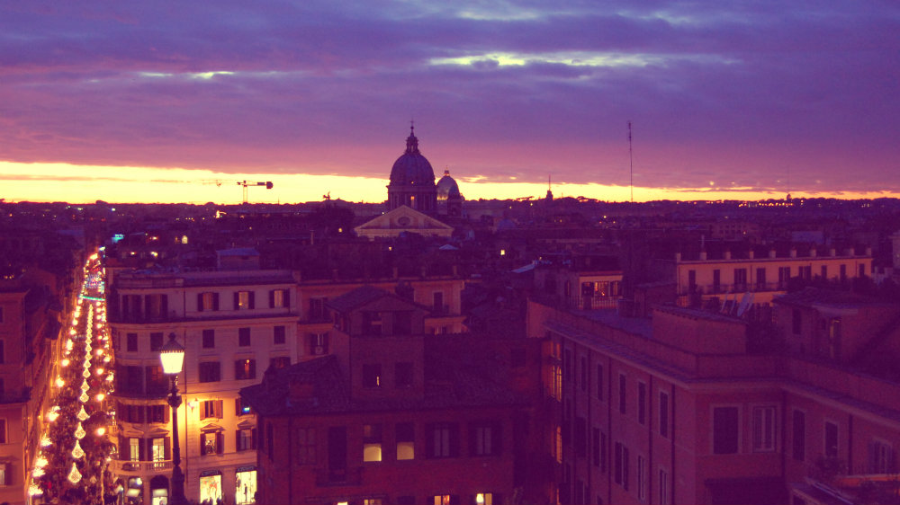 Roma desde Piazza Spagna