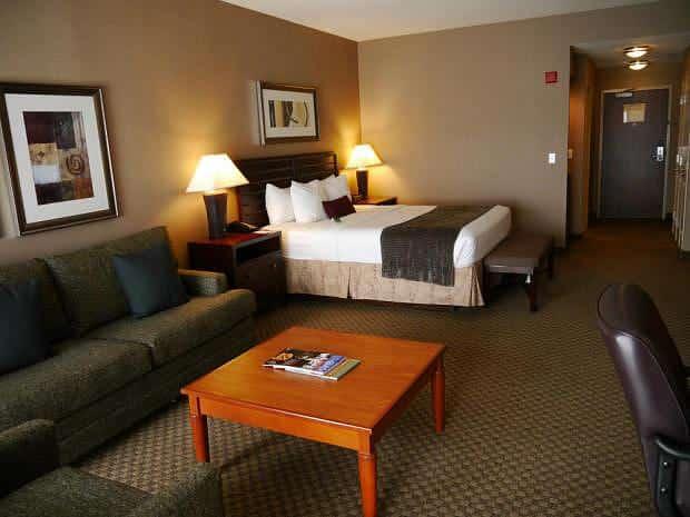Habitación en el Bayside Hotel Oakland