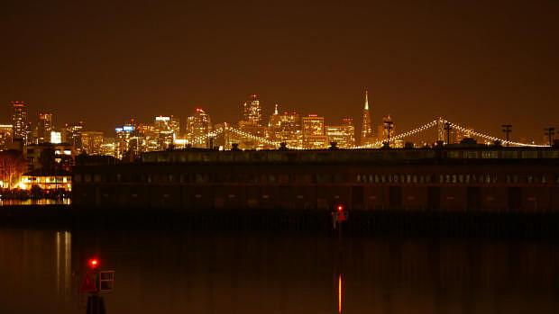 Vistas desde el Best Western Plus Bayside Hotel Oakland