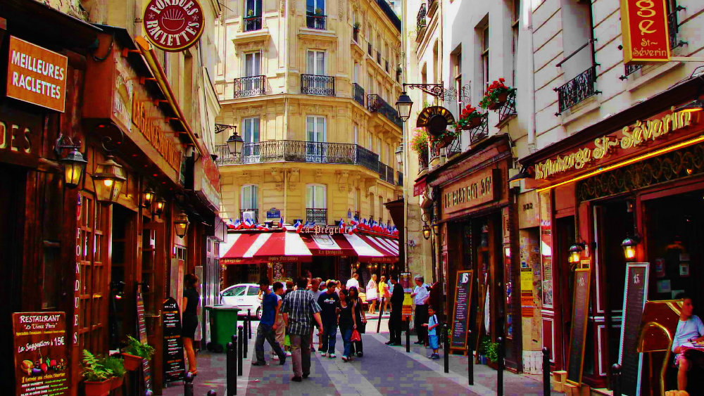 Best area to stay in Paris - Latin Quarter