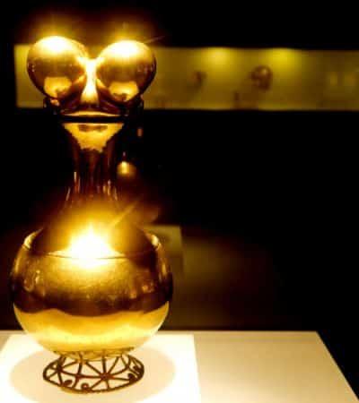 Poporo Quimbaya - Museo del Oro Bogotá