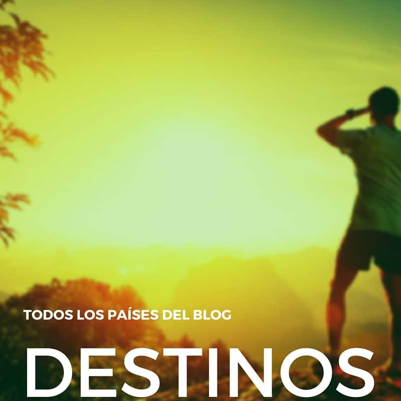 destinos del blog