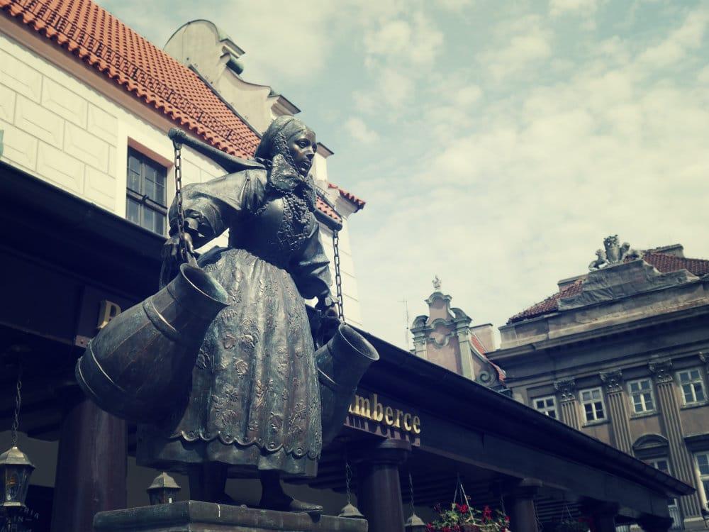 Centro histórico de Poznan, Polonia