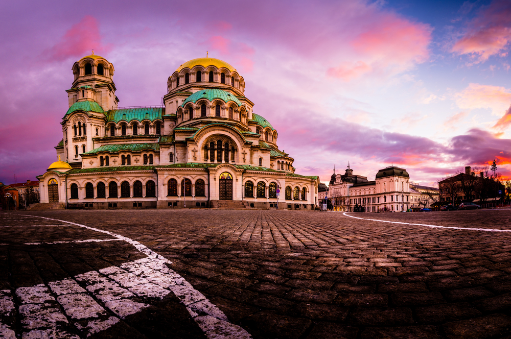 Best areas to stay in Sofia Bulgaria: Around the Cathedral